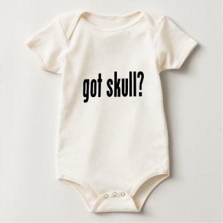 got skull? baby bodysuit