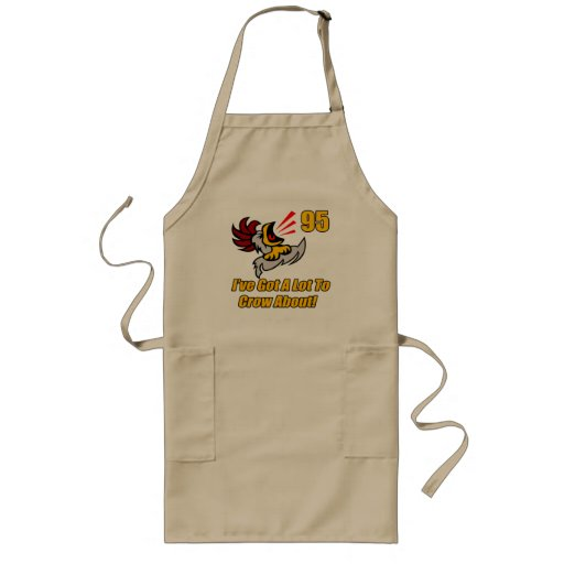 Got To Crow 95th Birthday Gifts Aprons