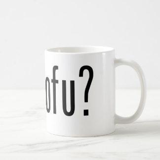 Got Tofu? Vegan Vegetarian Protein! Coffee Mugs