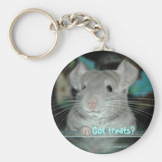 Got Treats? Basic Round Button Key Ring