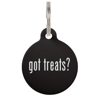Got Treats? Pet ID Tag
