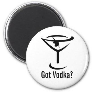 Got Vodka Round Magnet