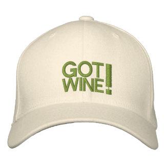GOT WINE HAT EMBROIDERED BASEBALL CAP