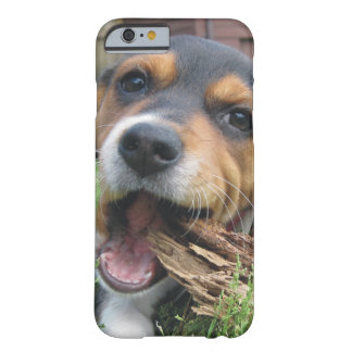 Got Wood? Happy Beagle Puppy Barely There iPhone 6 Case