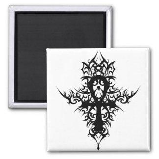Gothic Ankh Magnet
