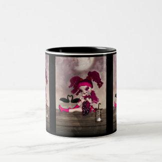 Gothic Gift Mug - Cute Gothic Doll Cupid