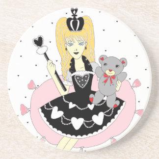 Gothic Hearts Princess Coasters