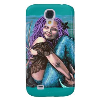 gothic mermaid i phone 3 case