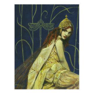 Gothic Nymph Postcard