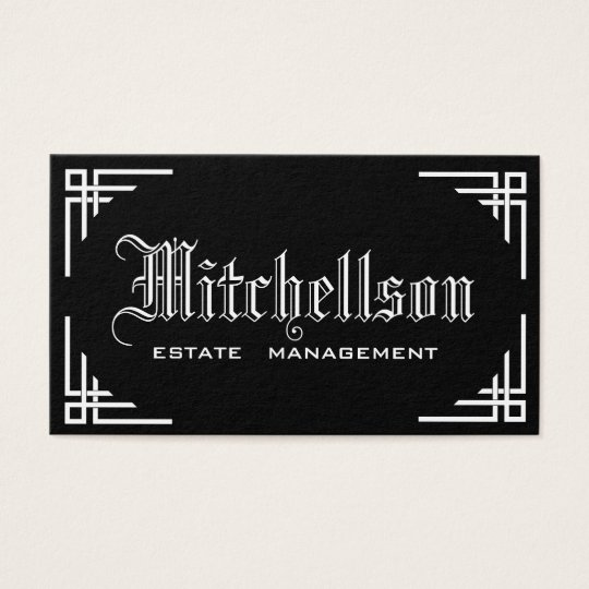 Gothic Pizzazz Business Card