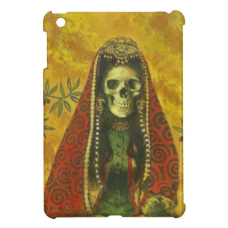 Gothic Skeleton Witch iPad Mini Case