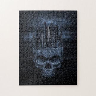 Gothic Skull City Puzzle