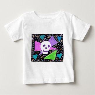 Gothic Skull pastel black Baby T-Shirt