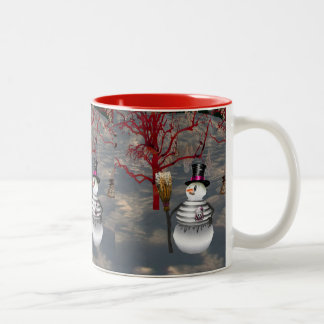 Gothic Snowman Mug