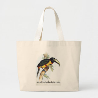 Gould - Royal Aracari Toucan Large Tote Bag