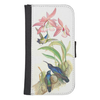 Goulds Hummingbirds Samsung Galaxy Wallet Case