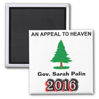 Gov. Sarah Palin 2016 - An Appeal To Heaven Magnet