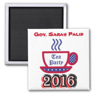 Gov. Sarah Palin 2016 - Tea Party Magnet