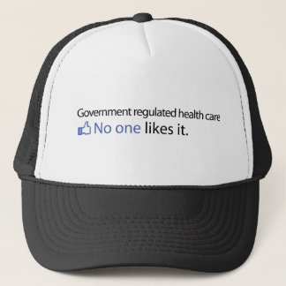 Government Regulated Health Care Trucker Hat