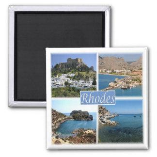 GR * Greece - Rhodes Magnet