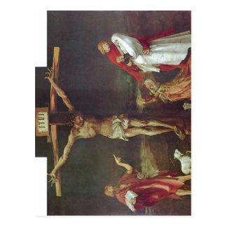 Gr?newald, Mathis Gothart 1512-1516 Technique ?l a Postcard