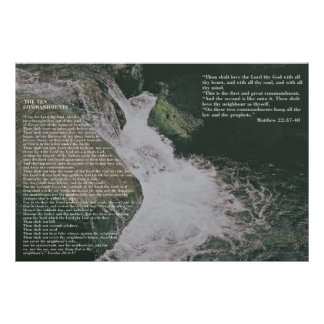 Grace and Truth Scripture Poster