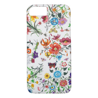 grace Kelly Designer Floral Scarf iPhone 7 case