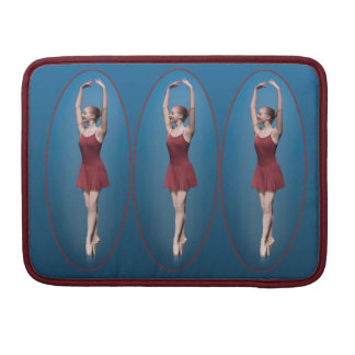 Graceful Ballerina On Pointe Sleeve For MacBook Pro