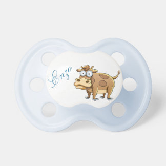 Graceful cow baby pacifier
