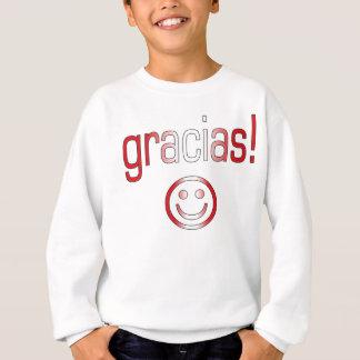 Gracias! Peru Flag Colors Sweatshirt
