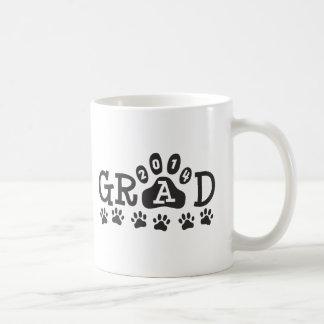 GRAD 2014 PAWS - Cute Graduation Classic White Coffee Mug