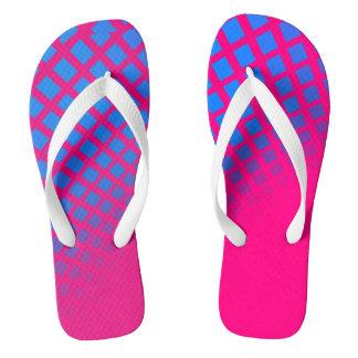 Gradient Blue & Pink FlipFlops Thongs
