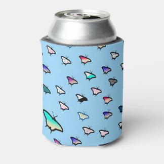 Gradient Butterflies Light Blue Beer Sleeve / Cozy Can Cooler