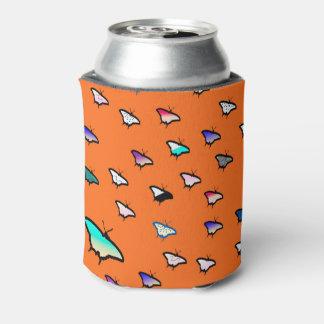 Gradient Butterflies Orange Beer Sleeve / Cooler