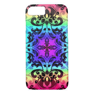 Gradient damask pattern in gorgeous colours iPhone 8/7 case