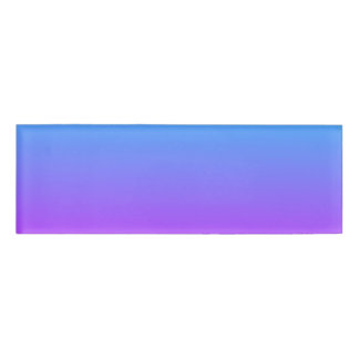 Gradient Purple Background Name Tag