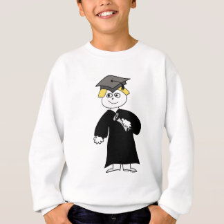 Graduate, Blonde Male Sweatshirt