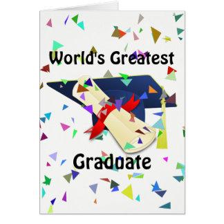 Graduate/Graduation Card
