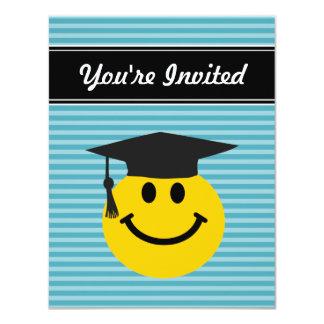 Graduate smiley face card