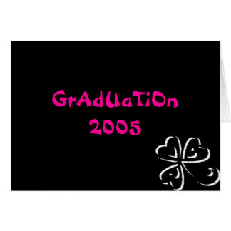 Graduation 2005 card