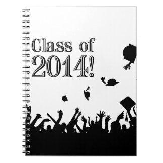Graduation 2014 spiral note book