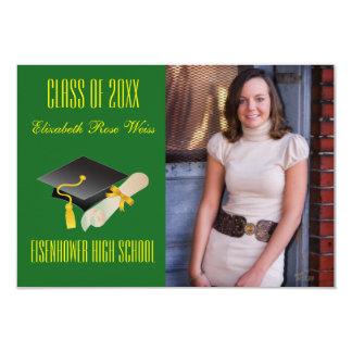 Graduation Announcement - 3x5 Cap & Diploma