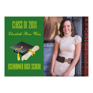 Graduation Announcement - Cap & Diploma