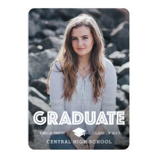 Graduation Announcement - Graduate & Celebrate