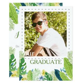Graduation Announcement photo template
