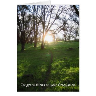 Graduation Card, New Path Card