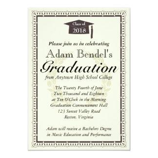 Graduation Certificate Announcement