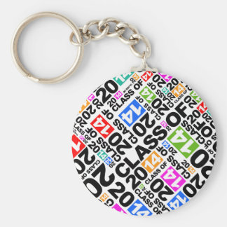 Graduation Class Of 2014 Keychain Color