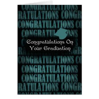Graduation Congratulations - Congratulations Card