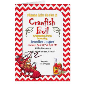 Graduation Crawfish Boil Party Invitation